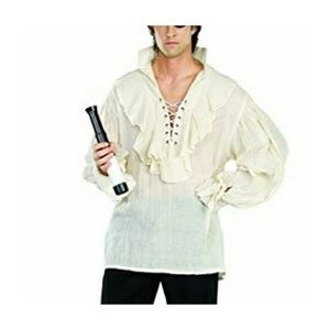 Pirate Poet Theater Ruffle Shirt Costume Top